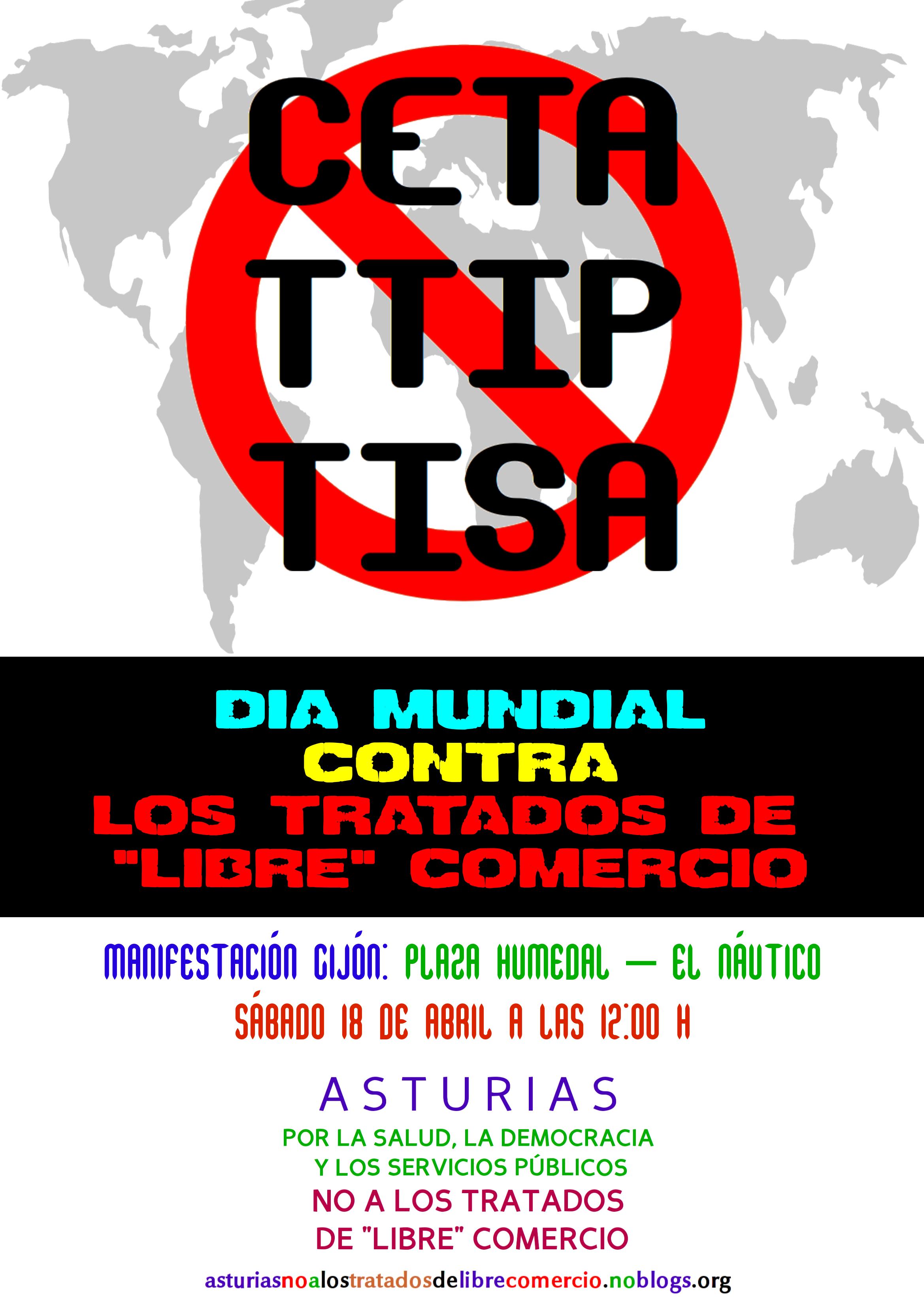 Día Mundial contra los Tratados de Libre Comercio