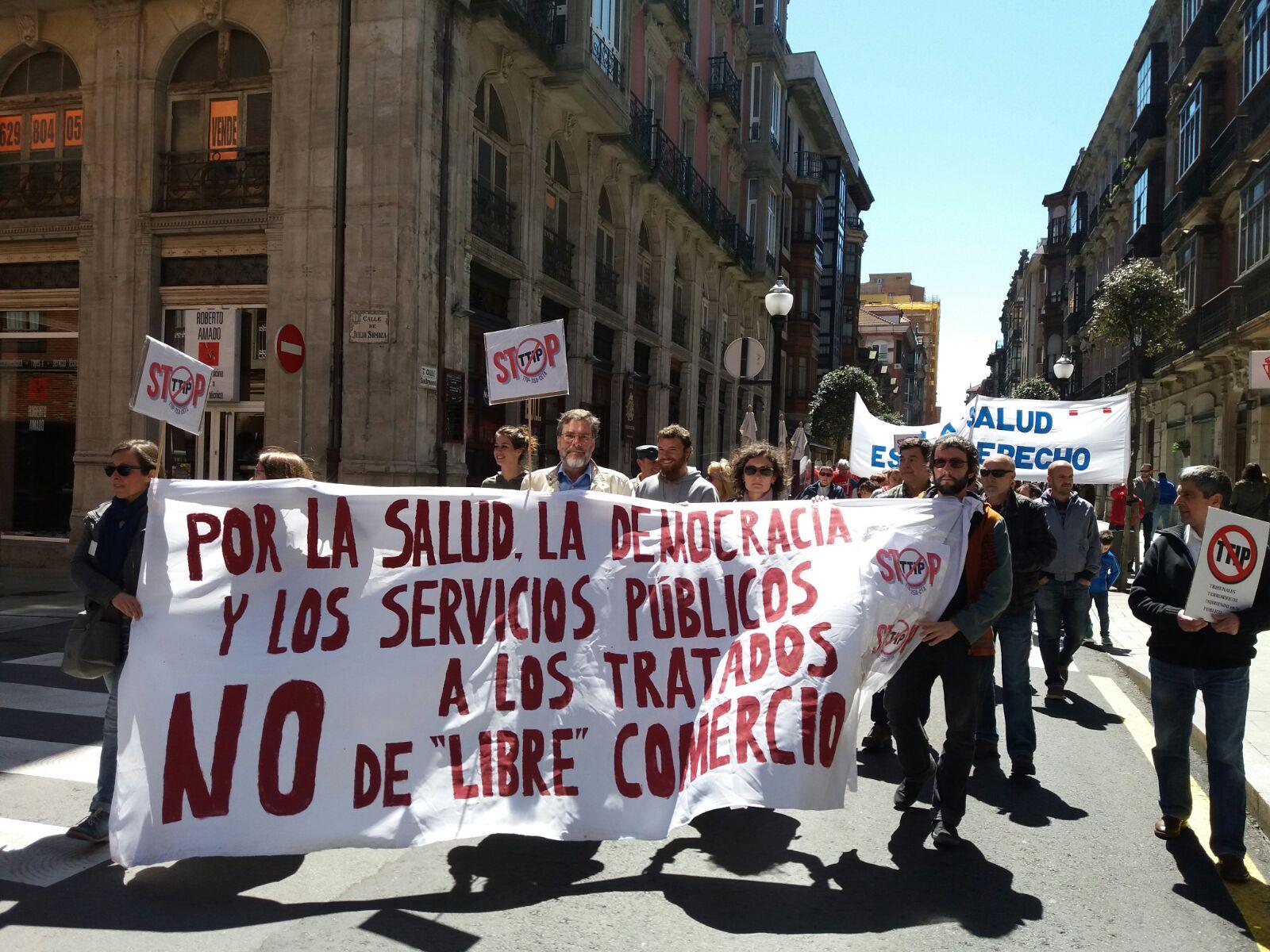 Participación en el 1 de Mayo de 2016 en Gijón